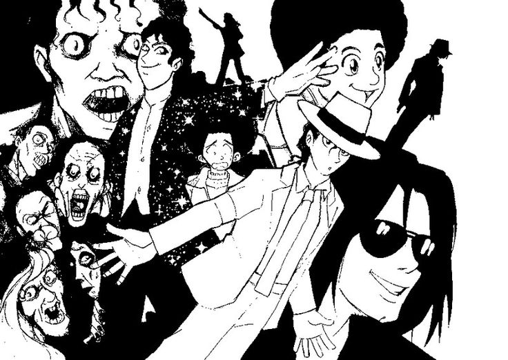 115 best images about cute cartoons for Michael jackson smooth criminal coloring pages