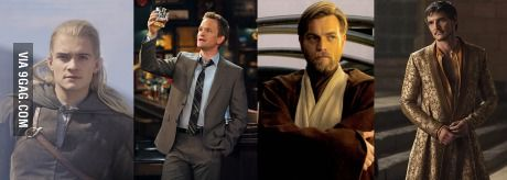 Legolas, Barney Stinson, Obi-Wan Kenobi and Oberyn Martell are dubbed by the same actor in Germany.