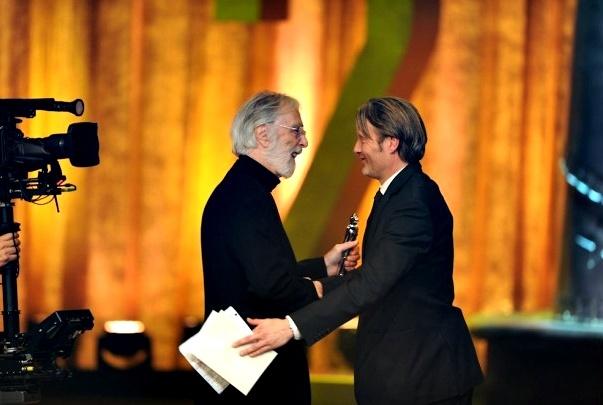 Dos grandes: Michael Haneke y Mads Mikkelsen
