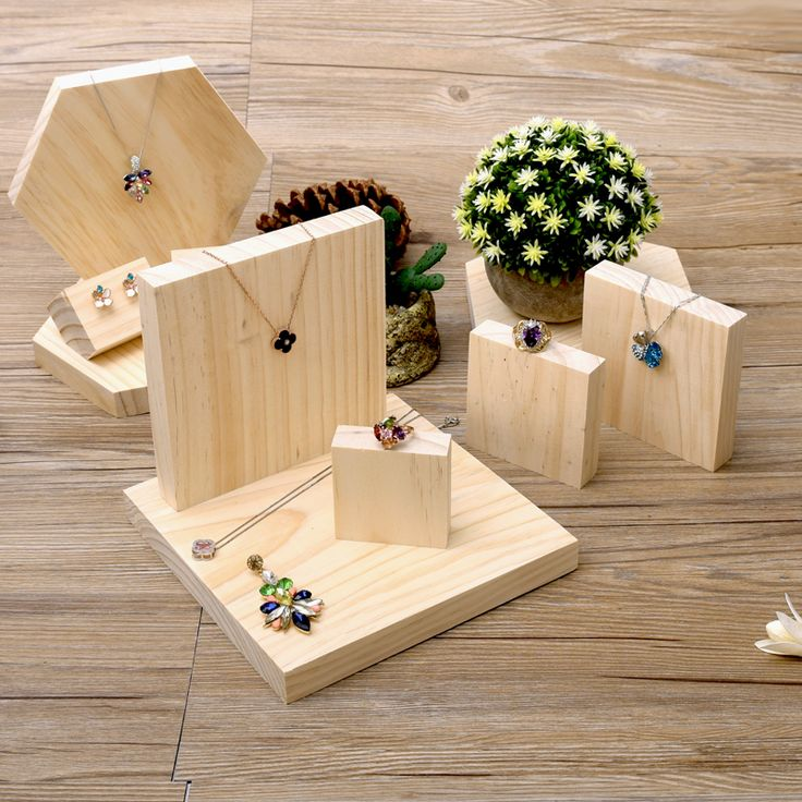 Exhibition Stand Wood : Best wooden jewelry display ideas on pinterest