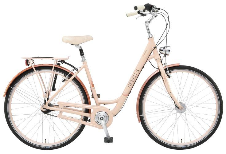 #Greens #City #Burlington #women #creme #peach #Shimano #Fahrrad #10Lux #Kettenschutz #Nabenschaltung #7gang #Rücktritt #Aluminium #Rahmen #28Zoll #Schwalbe #Reifen #Retro #Scheinwerfer #Chrome mehr auf www.greens-bikes.de oder Ihrem #Händler