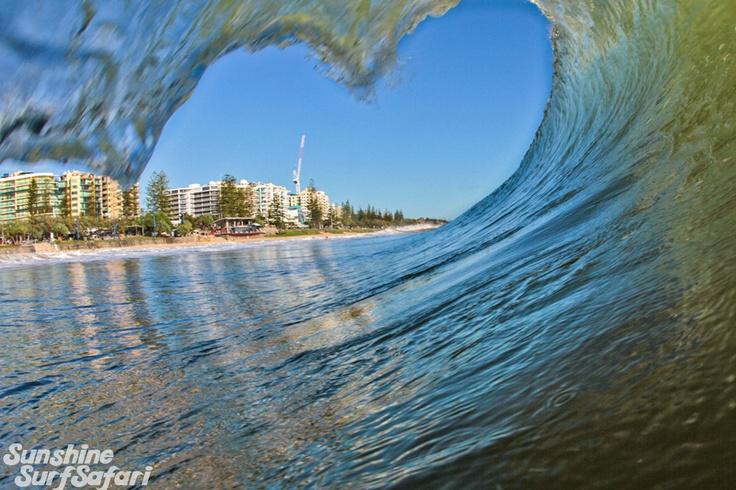 A Heart shape Barrel Mooloolaba Sunshine Coast