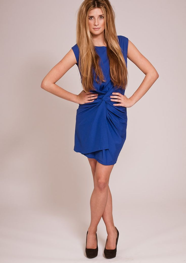 Blue Dress - Blue in any shade is top of the colour trends for SS2014, so no wonder that we've only got one dress left in stock.