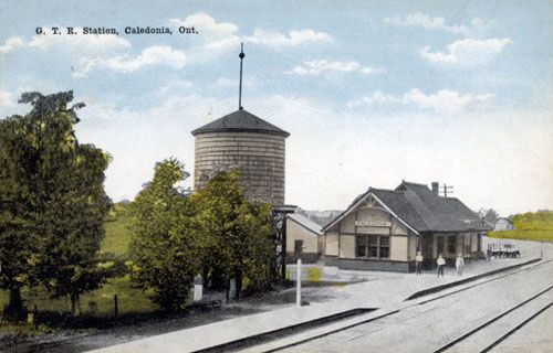 Railway stations in Caledonia Ontario