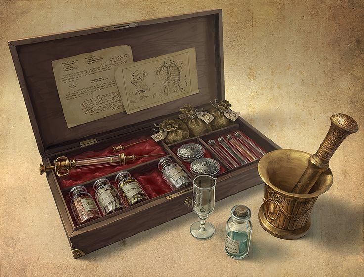 Set Of Poisons by AnekaShu.deviantart.com on @DeviantArt