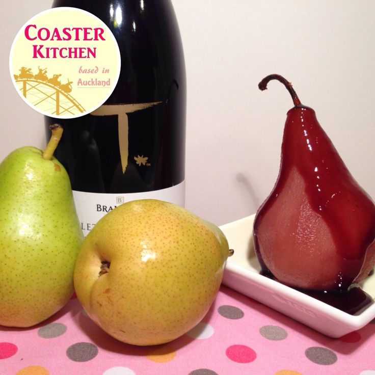 Poached pears in red wine is a dessert that I always like to make during the pears season. The pear seasons in NZ falls at around February and March where the fruits are harvested. It is then avail…