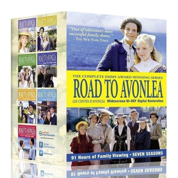 Road to Avonlea complete season 1-7 dvd. 91 episodes. 19 dvd.