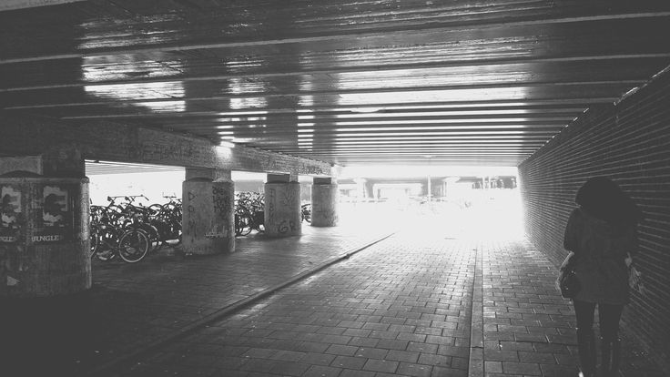 Under the Bridge Black and White