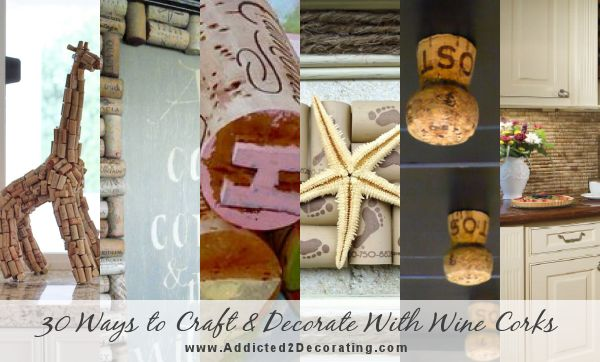 30 ways to craft and decorate with wine corks
