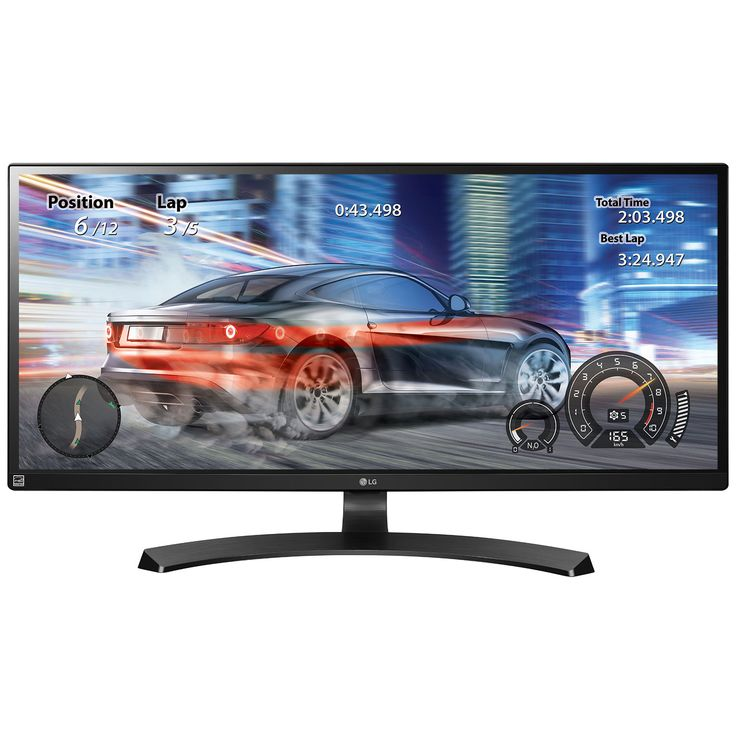 """Ecran PC LG 34"""" LED 34UM68 2560 x 1080 pixels - 5 ms - Format large 21/9 - Dalle IPS - DisplayPort - HDMI - Noir (garantie constructeur 2 ans)"""