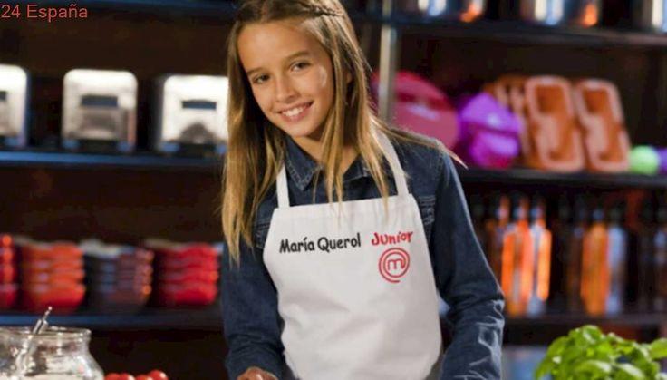 ¿Se atreverá la MasterChef Junior María Querol a cocinar una medusa «huevo frito»?