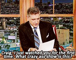"His tweets and e-mails segment. | Community Post: 23 Reasons Craig Ferguson Is The Best Host Of ""The Late Late Show"" Gonna miss him a lot :)"