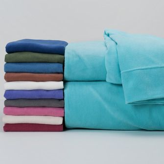 share berkshire blanket with your friends and receive a promo code for off fourseason microfleece sheets solid - Microfleece Sheets
