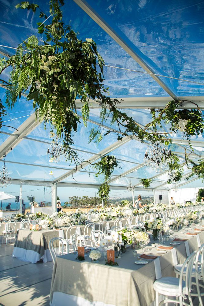 Clear marquee by The Style Co. #wedding