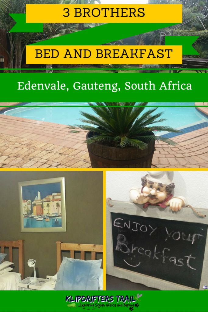 3 Brothers Bed and Breakfast in Edenvale, Johannesburg, South Africa
