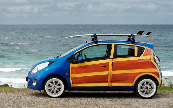 "Custom Chevrolet Spark ""Woody"""