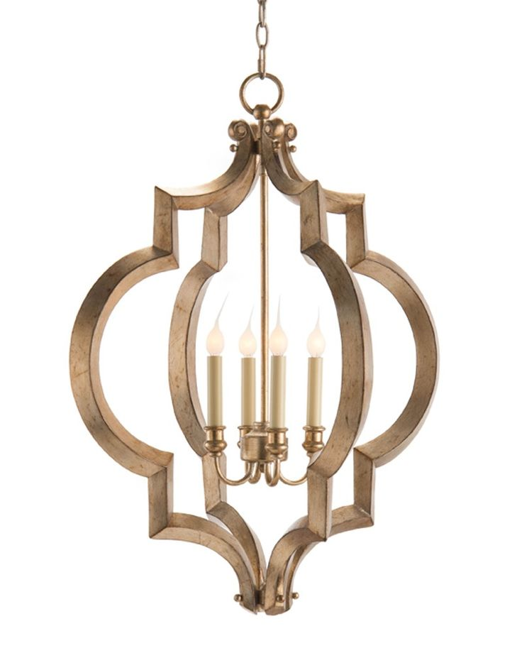 Sculptural Four-Light Chandelier - Chandeliers - Fixed Lighting - Lighting  - Our Products - 311 Best Lighting Images On Pinterest Dining Room, Chandeliers