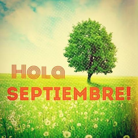 #holaseptiembre #buenavibra #para todoelmes!