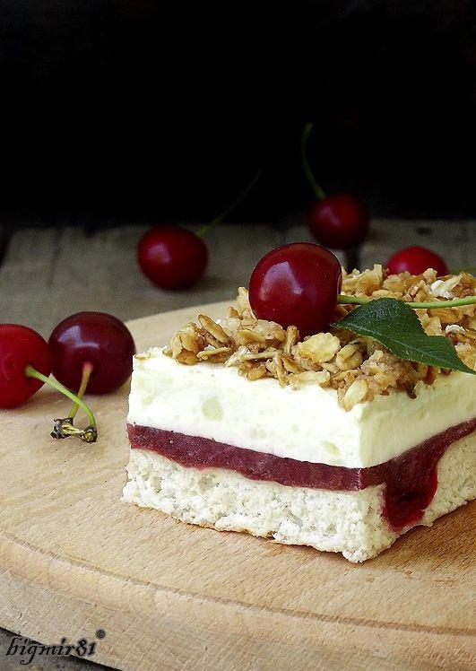 Мой журнал - Ванильно-вишневый торт