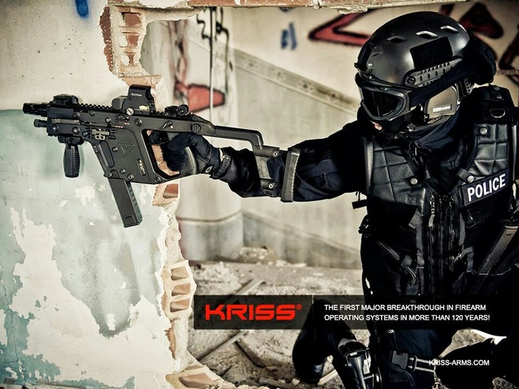 Kriss Vector SMG 02 (Photo Credit: Bigdomphoto)