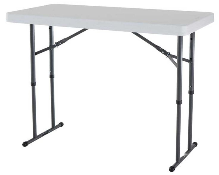Black Folding Table Legs
