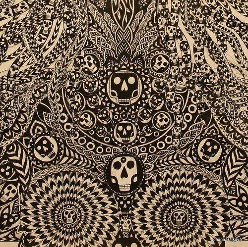 perokresba * KALI * detail Autor: Johana Hájková https://cz.pinterest.com/johanahajkova14/johanah-perokresby-reprofoto-obrazy/