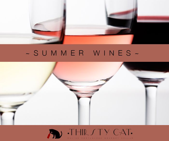 White, Rosé, Red... What's the wine that best fits your Summer needs? Whatever you choice, order now and get your favorite bottles within 4 - 7 weekdays :) http://www.thirsty-cat.com/