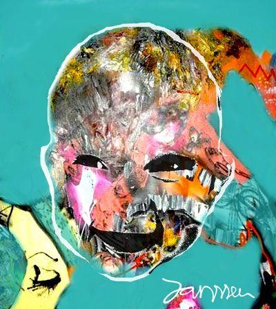 My little girl #fenna  #artwork #kunst #baby