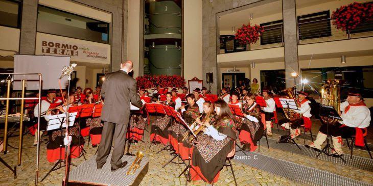 Agosto alle Terme, con la Filarmonica Bormiese