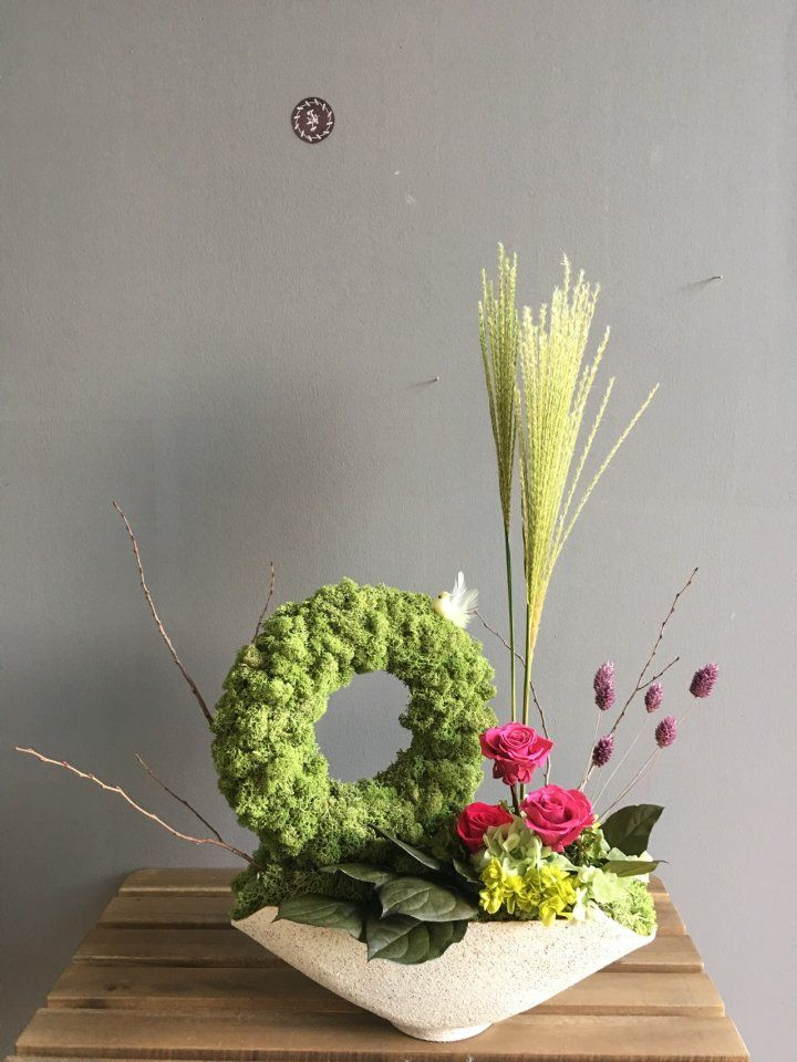 Preserved flower...