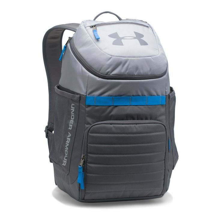 f974baf4aa Under Armour Undeniable 3.0 BackpackOvercast Gray 941 Mako Blue One Size --  Read more