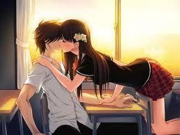 Image result for imagenes de parejas de animes besandose para dibujar