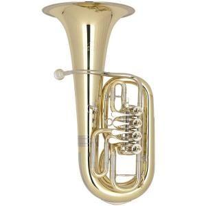 C Kaiser Baritone Miraphone - 56A 200 Yellow Brass