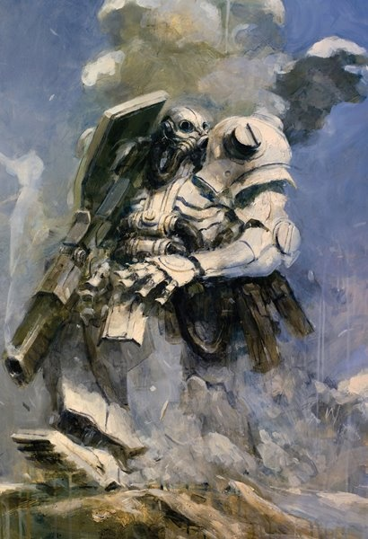 Ashley Wood, robot
