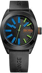Hugo Boss Orange 1513053 Black Silicon Watch