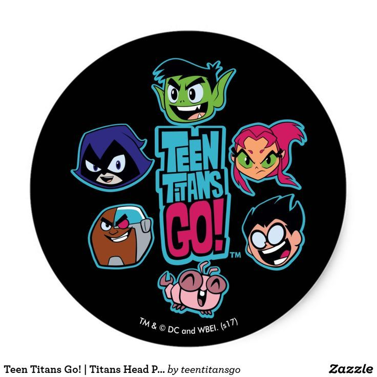 Cyborg TV Large Stickers Starfire 15 Teen Titans Go Robin Raven Beast Boy