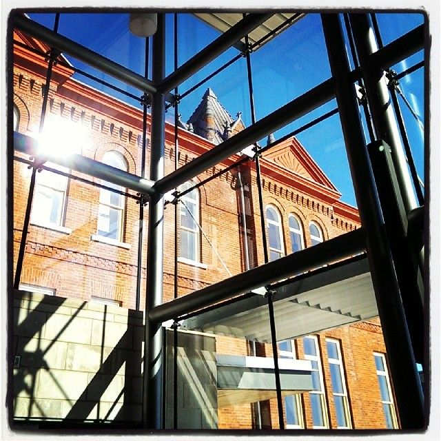 "@willupans's photo: ""Pretty Goodes #queensu #university #business #architecture"""