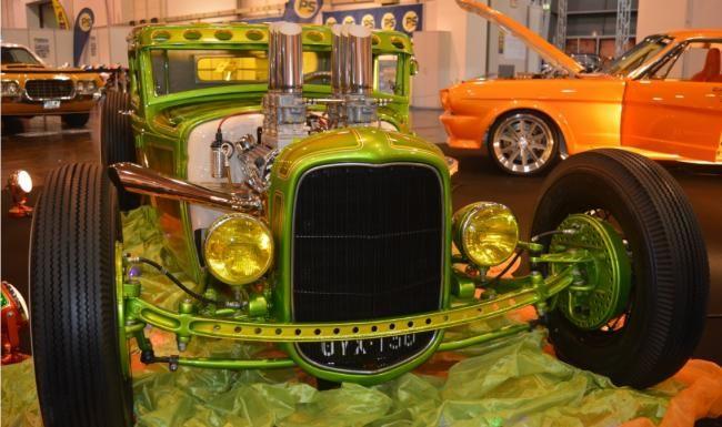 Essen Motor Show 2015 Hot Rod Show