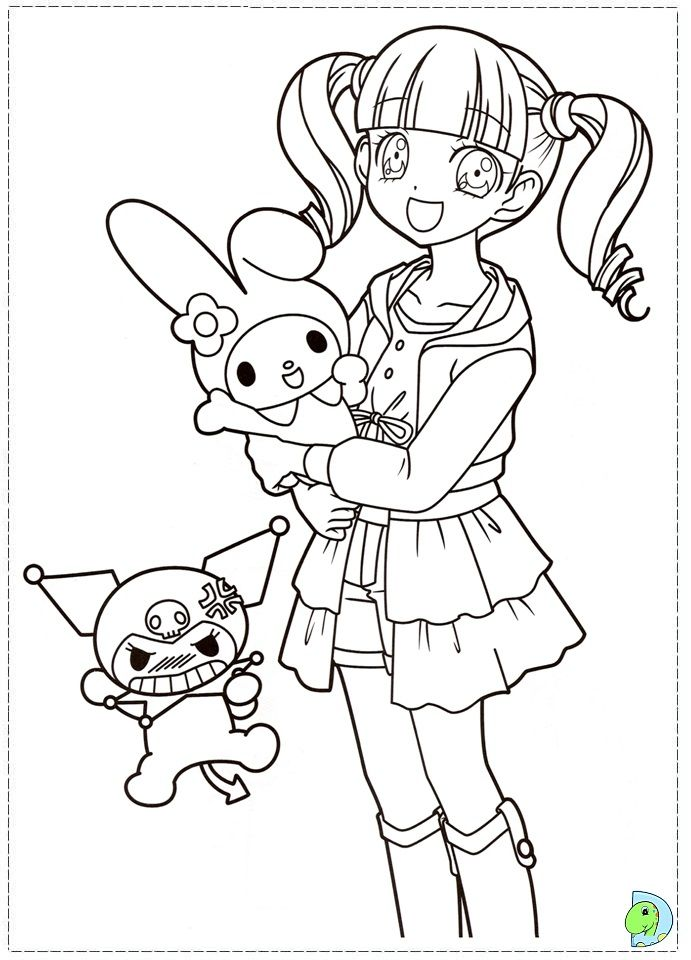 dinokids manga coloring pages - photo#7