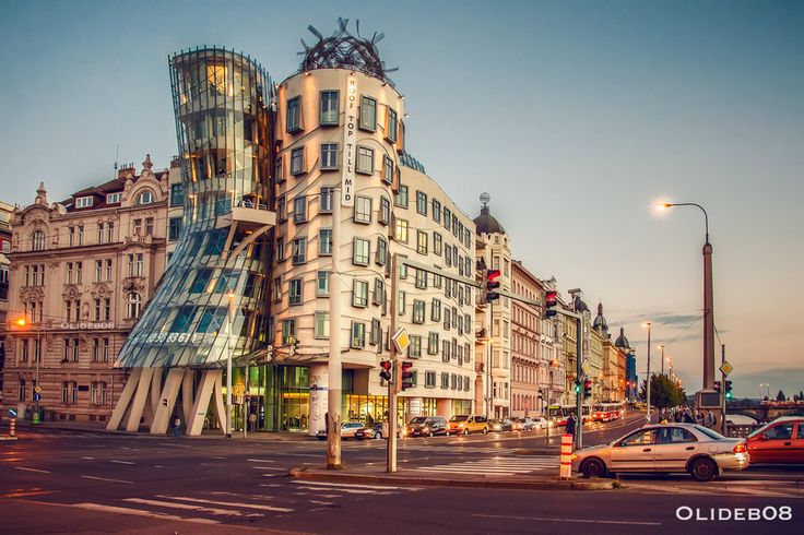 Prague - Dancing house III by olideb08.deviantart.com on @DeviantArt