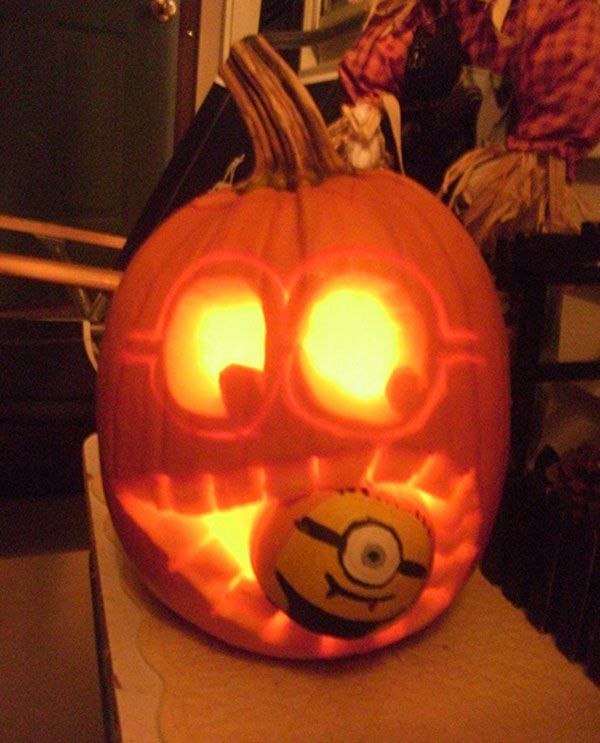 30 best cool creative scary halloween pumpkin carving ideas 2013 - Cool Halloween Carvings