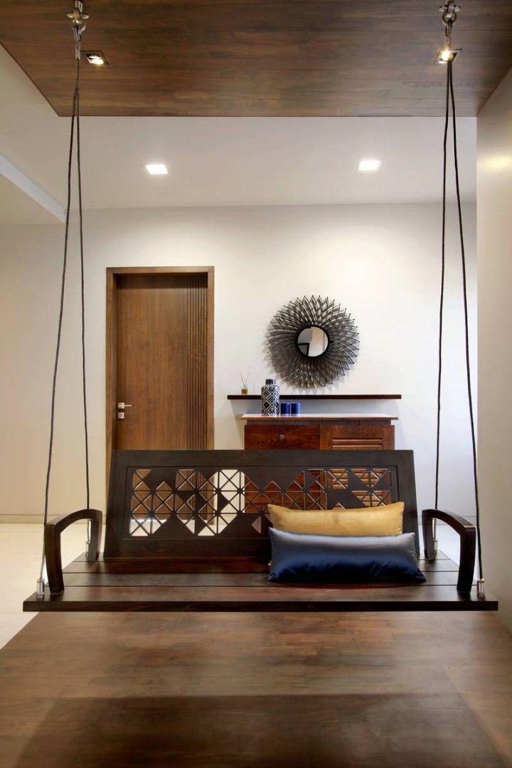 Nitya Bungalow A T Associates Indian Home Interior Indian