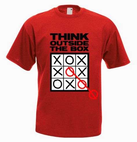Think Outside the Box T-Shirt - http://goo.gl/zo2qAi