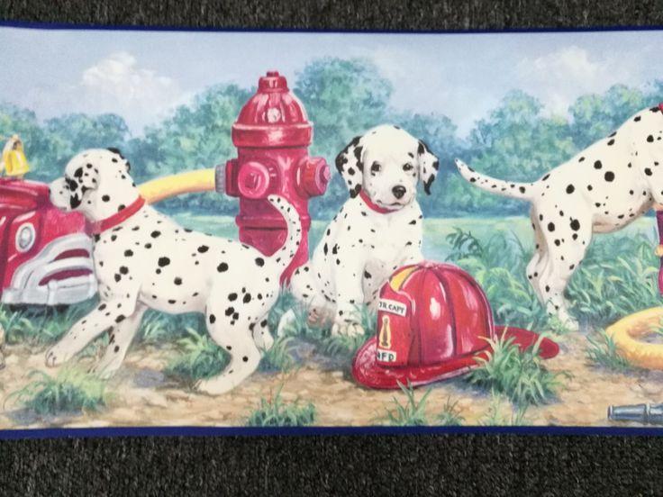Clearance Wallpaper Border Stock Sale  #KidsBorders #kidswallpaper #puppywallpaper
