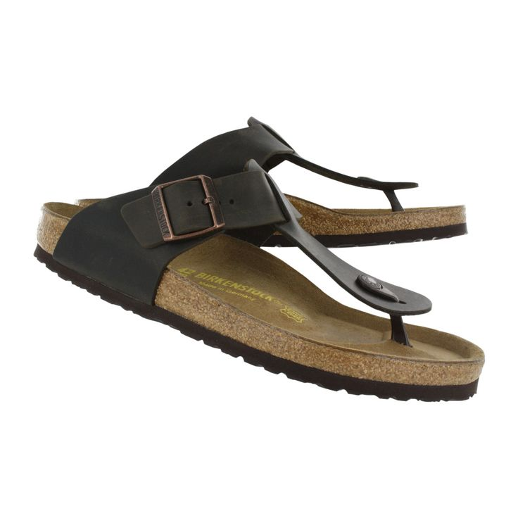 Birkenstock Men's MEDINA havana toe post sandals 046011 m