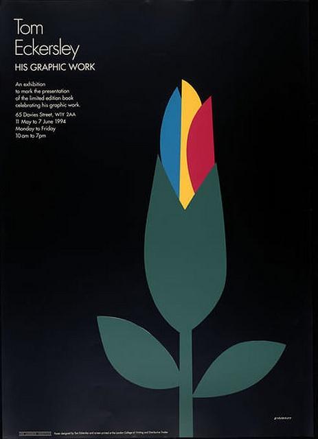 Tom Eckersley - 1974