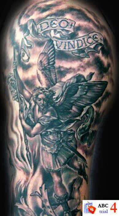 133 best collection of the cutest angel tattoos images on pinterest angels tattoo angel. Black Bedroom Furniture Sets. Home Design Ideas