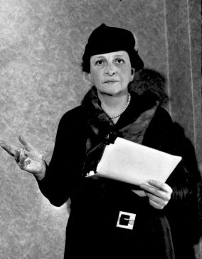 On March 4th, 1933, Frances Perkins became the first woman to serve in the U.S. Cabinet.