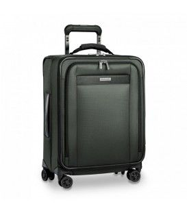 Briggs and Riley - Transcend VX - Valise 21'' format cabine extensible Large TU421VXSPW 4 roues - Verte