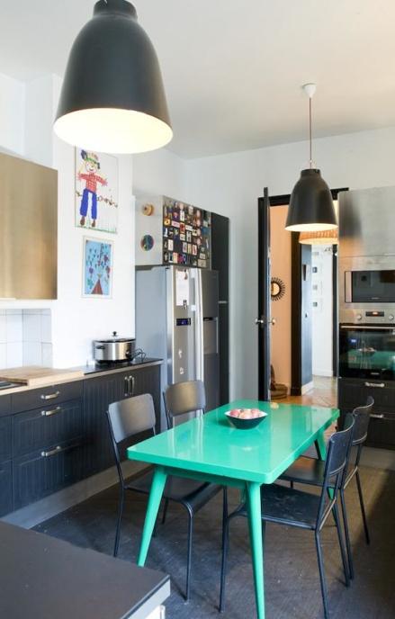 105 best images about id es pour la cuisine peinture des. Black Bedroom Furniture Sets. Home Design Ideas